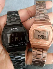 Reloj B640w MateRosa Pareja Negro Duo Vintage tsQdhr
