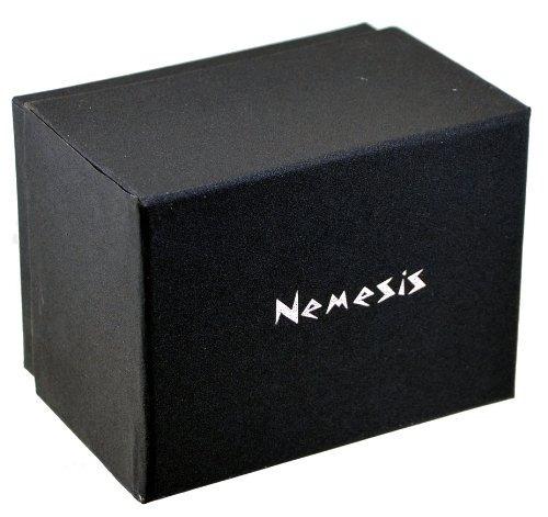 reloj nemesis #fxb925k colecci?n rock con calavera p/mujer
