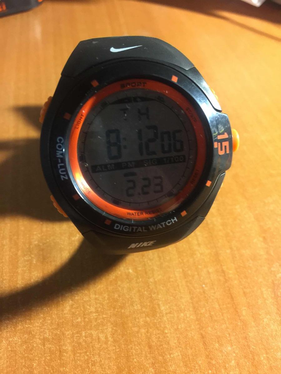 diseño de calidad 206e0 418e7 Reloj Nike Deportivo Naranja