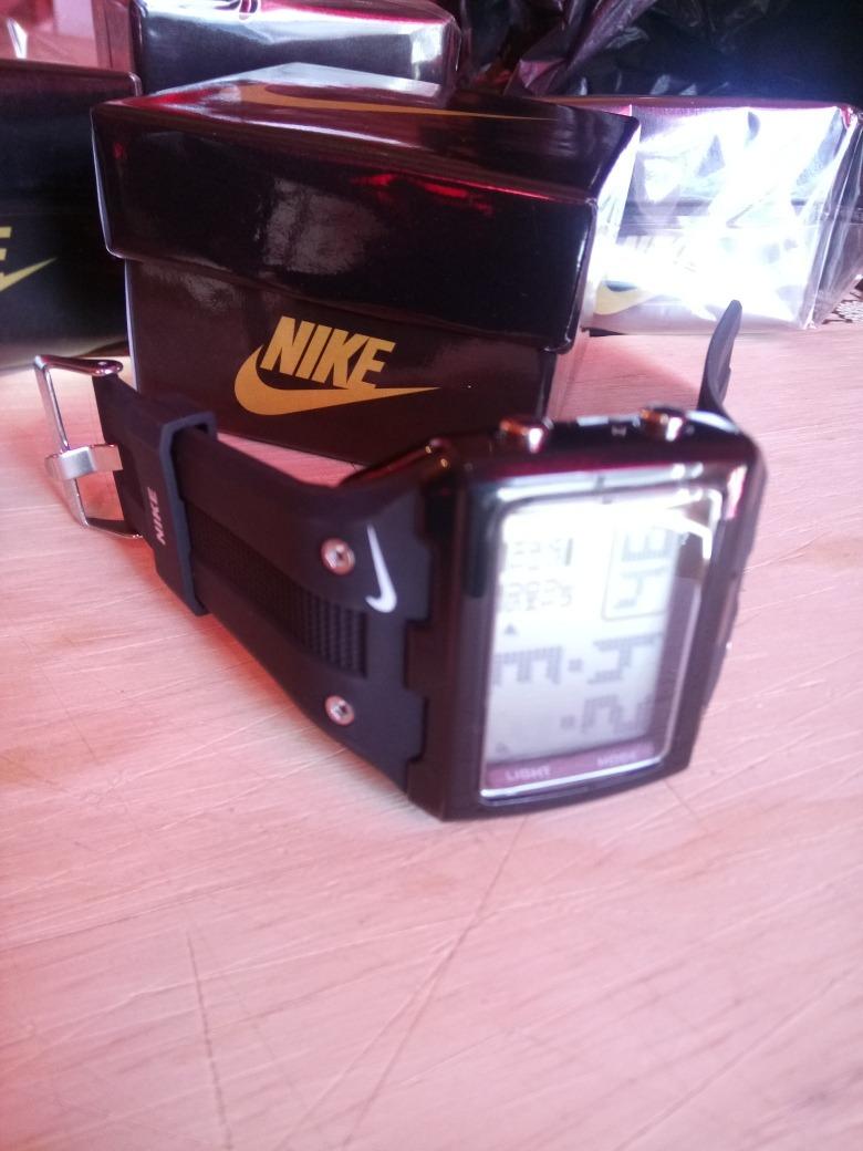 Sport Nike Alarma Fechador Cronómetro Con Luz Reloj w80knOP