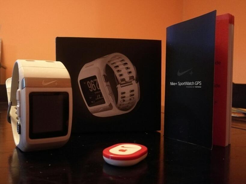 Pizza Nacarado Útil  Reloj Nike+ Sportwatch Gps By Tomtom - $ 7.500,00 en Mercado Libre