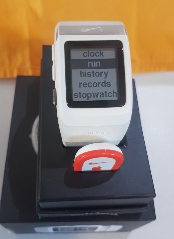 gráfico Vacilar Puntuación  Reloj Nike+ Sportwatch Gps Powered By Tomtom. - $ 6.900,00 en Mercado Libre
