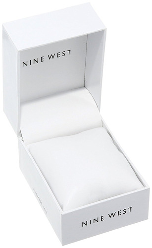 reloj nine west nw/1582wtrd rojo