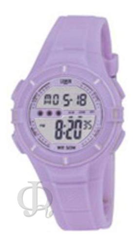 reloj niño digital luz alarma crono lemon  dl205