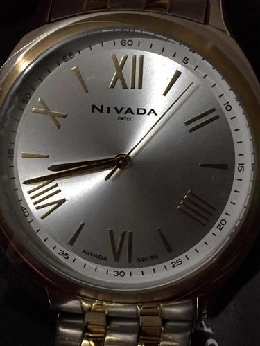 reloj nivada 2019 original c/sellos plásticos caja empaques