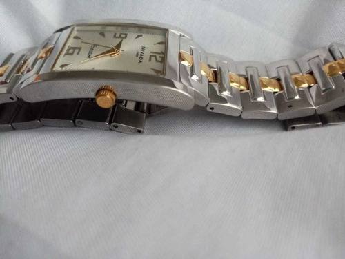 reloj nivada caballero combinado modelo gc1865c/1