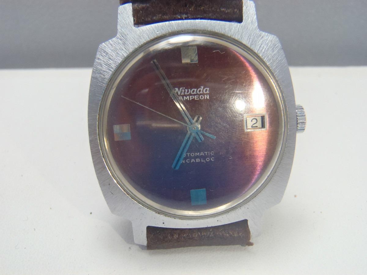 Reloj de diamantes suizo vintage