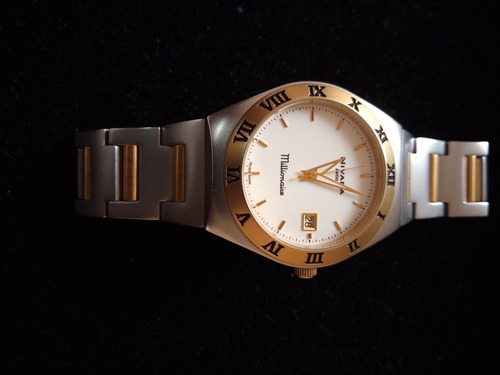 reloj nivada millonaire para caballero