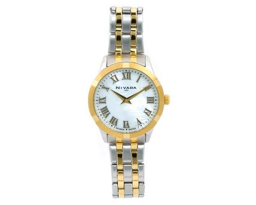 reloj nivada np16174lbicbr plateado pm-7173473