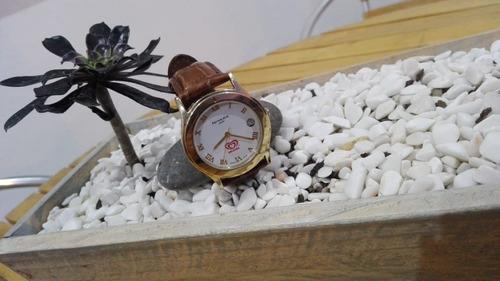 reloj nivada np6967 chapado oro