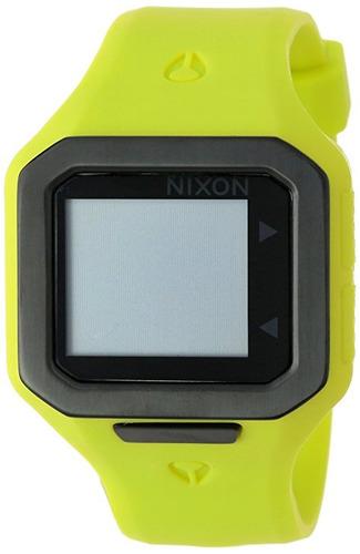reloj nixon a amarillo masculino