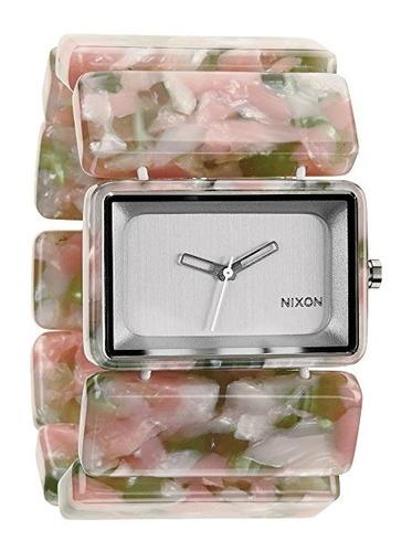 reloj nixon a rosado