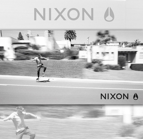 reloj nixon a045000 time teller black 100% acero inoxidable