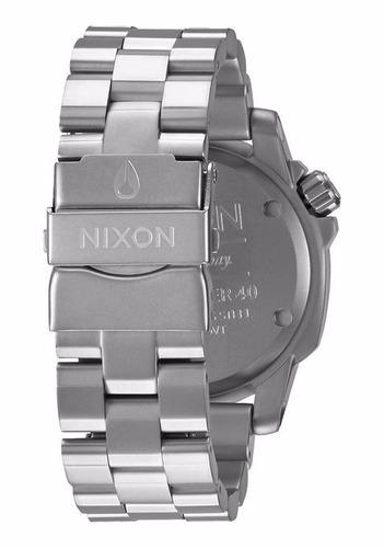 reloj nixon a468000 ranger 40 100m wr 100% acero inoxidable