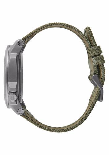 reloj nixon a5142072 ranger 45 nylon gunmetal 100m wr