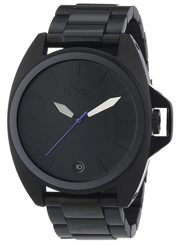 reloj nixon anthem acero negro hombre a396001