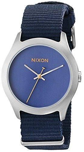 reloj nixon azul femenino