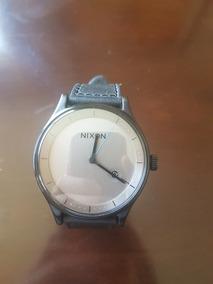 Nixon Y Reloj Cuarzo Inoxidable Correa Acero De Cuero eDWIH9E2Y