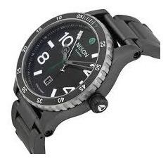 reloj nixon diplo black