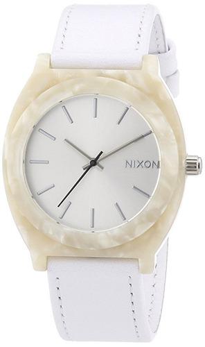 reloj nixon  leather a femenino