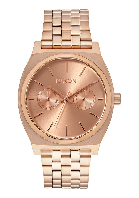 Time Nixon Teller Mujer Deluxe Reloj tQdCshr