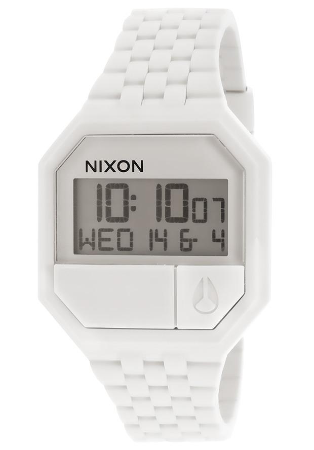gran descuento aca5a be5b2 Reloj Nixon Re-run Digital White Rubber And Dial - Mujer
