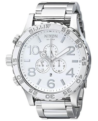 reloj nixon the 51-30 acero inoxidable hombre a083488