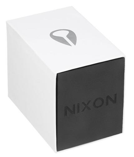 reloj nixon the ranger 45 acero negro hombre a521sw2383