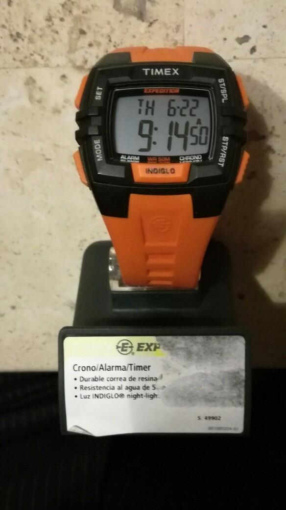e48ba7f30ba5 Reloj Nuevo Timex Expedition Naranja Y Negro. -   999.00 en Mercado ...