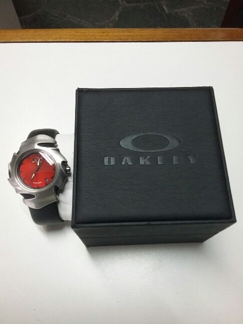 c21cb3a64d37 Reloj Oakley Blade Ii . Nuevo !!!.en Caja 100% Original -   5.500