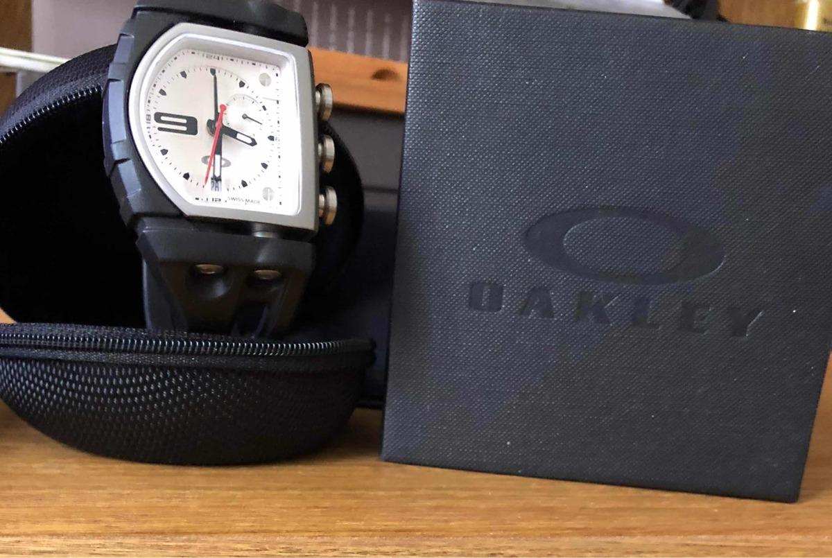 60e701a06f412 Reloj Oakley Suiza Cristal Zafiro - Dificil De Encontrar -   27.999 ...