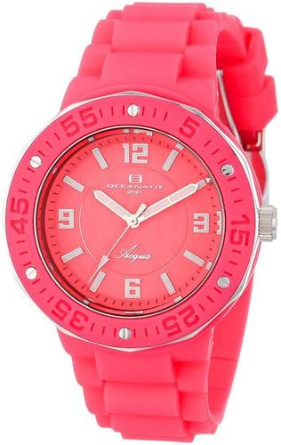 reloj oceanaut rosado