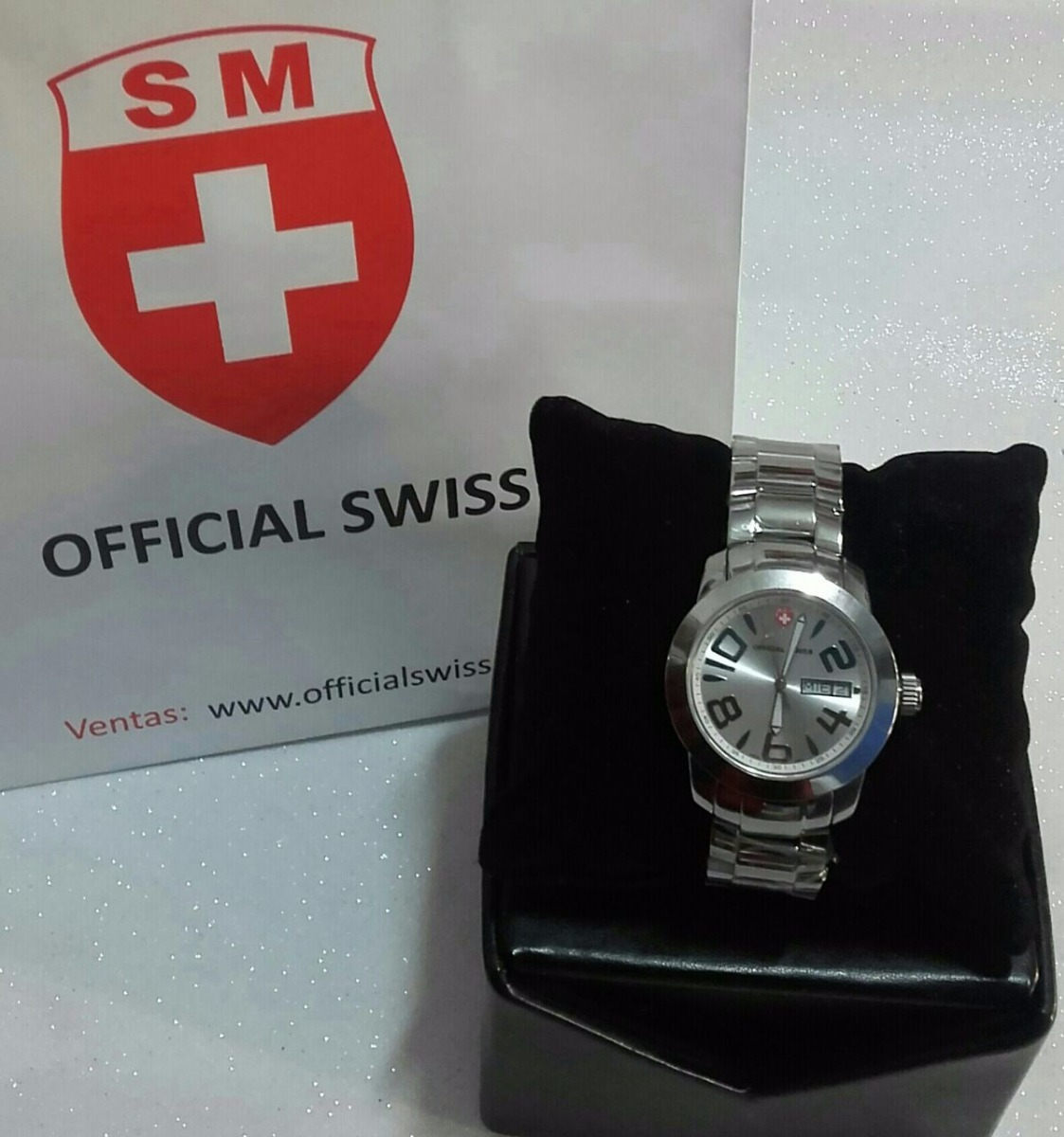65c8908fd2dd reloj official swiss® para hombre. Cargando zoom.
