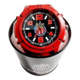 Reloj Oficial Deportivo Chivas Mod 9515