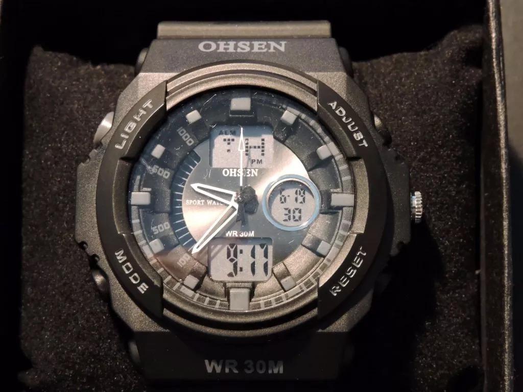 ffb9027eeead reloj ohsen ad1216 sumergible 30 metros - similar g shock. Cargando zoom.