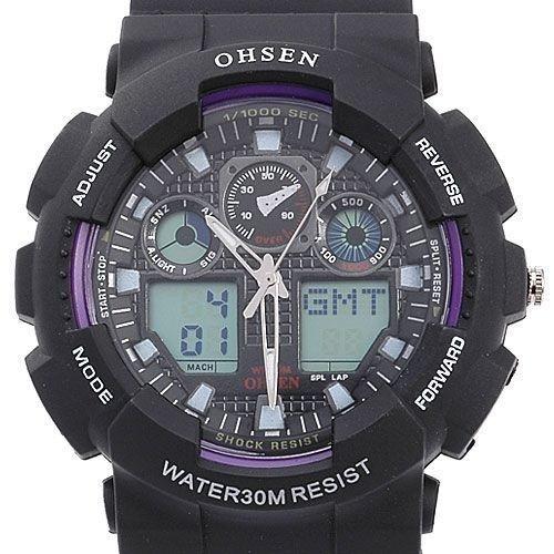 75d3c7f6dfa5 Reloj Ohsen Sumergible Hasta 30 Metros Original (nuevo) - Bs ...