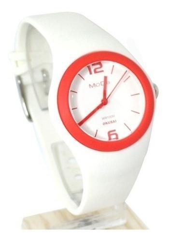 reloj okusai mode-310bl mujer malla resina sumerg