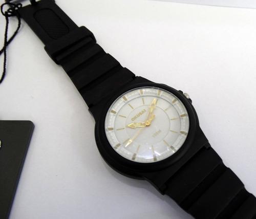reloj okusai steel wr100m. acero neon garantía oficial 12m
