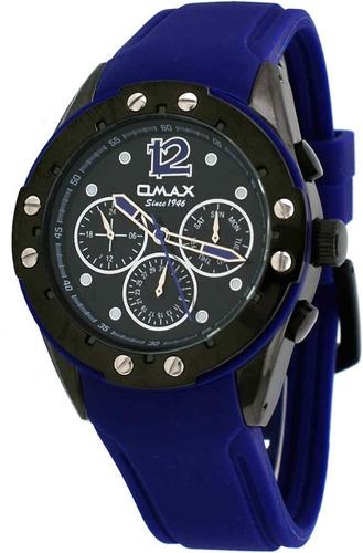 reloj omax pa20m24a men's elite sports collection multi-func
