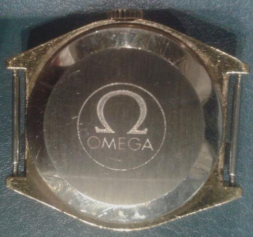 reloj omega automatic baño oro funcionando
