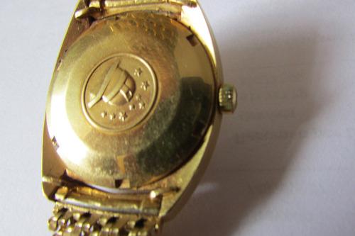 reloj omega  constelation 123 grs oro - presidente