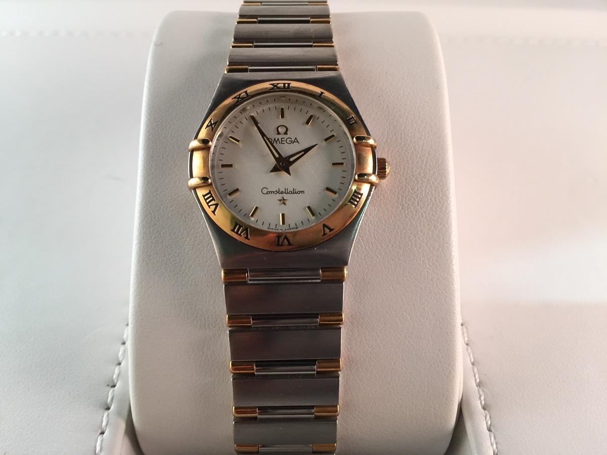 cb33e139976 reloj omega constellation 95 dama de acero oro quartz. Cargando zoom.