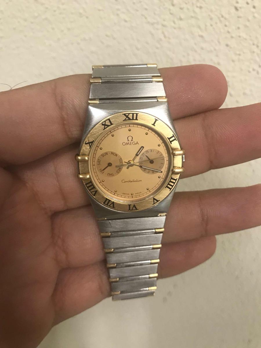 828c02cda257 reloj omega constellation acero oro 18 kt con fechador. Cargando zoom.