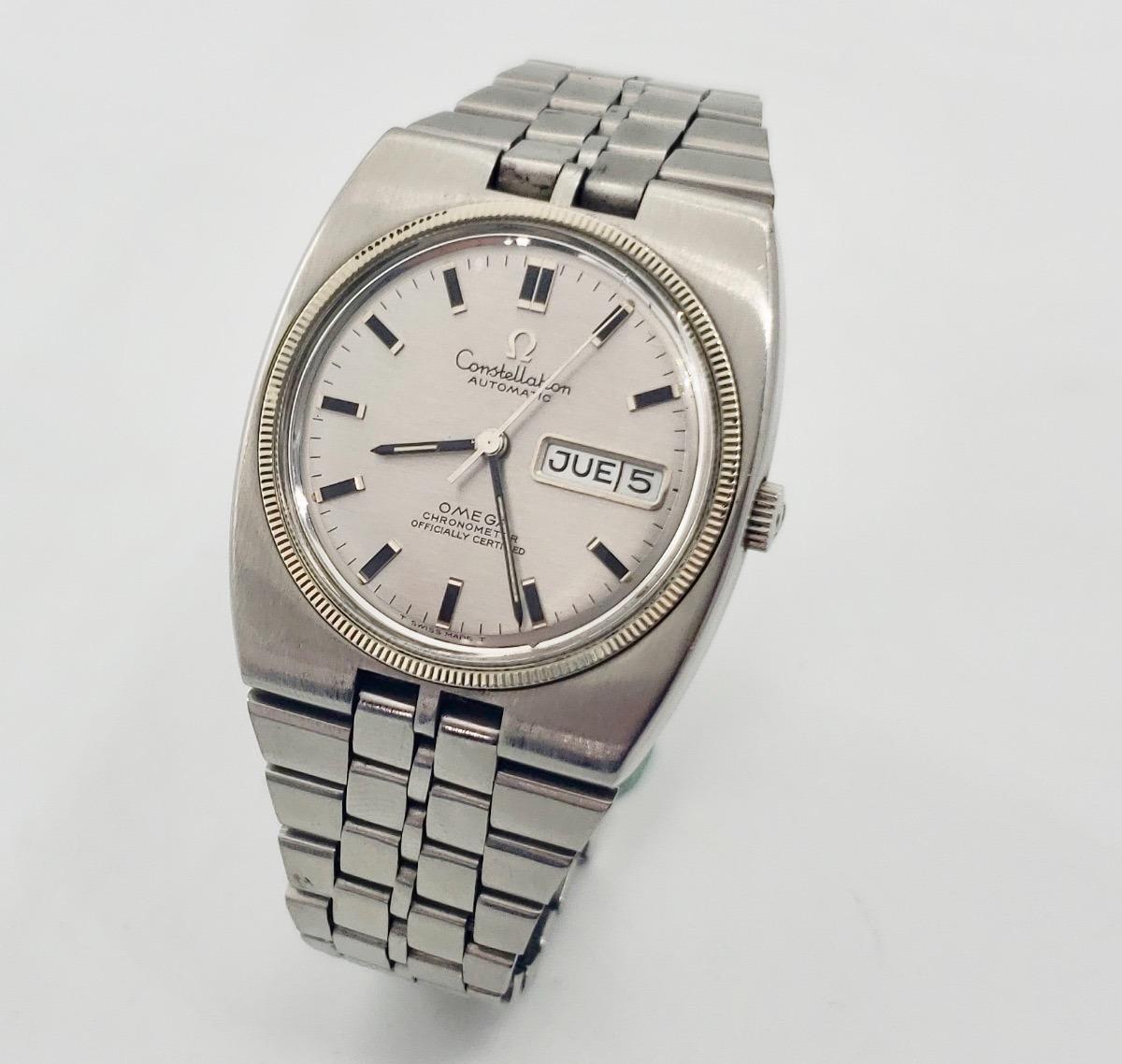 6cfef32a8584 Reloj Omega Constellation Automatico Funcionando Perfecto - $ 9,200.00