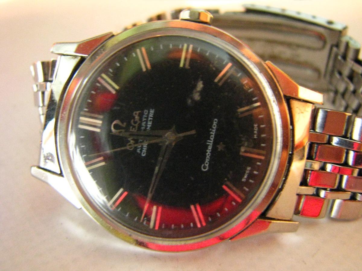1867ccb9b3ce Reloj Omega Constellation Hombre Acero Automatico Original - $ 19.990,00