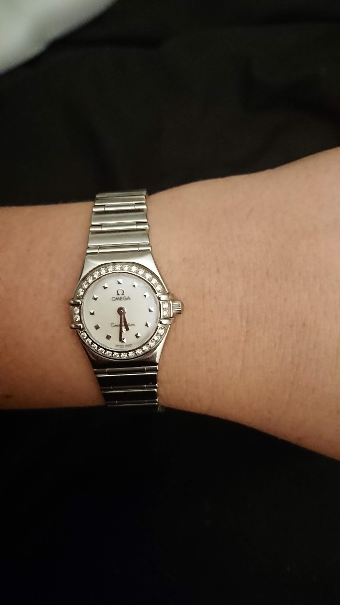 Reloj Omega Constellation My Choice Diamantes De Mujer Dama $ 84,900.00