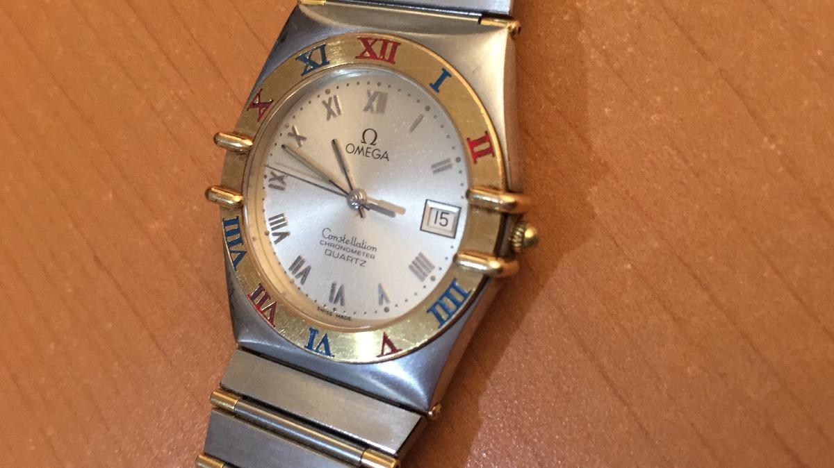 9d9a3f425140 reloj omega constellation oro 18 k y acero. Cargando zoom.
