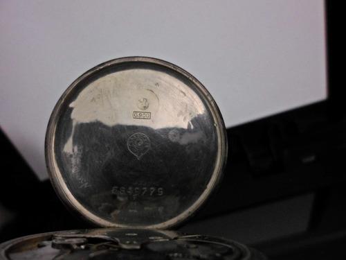 reloj omega de  bolsillo plata 0.900