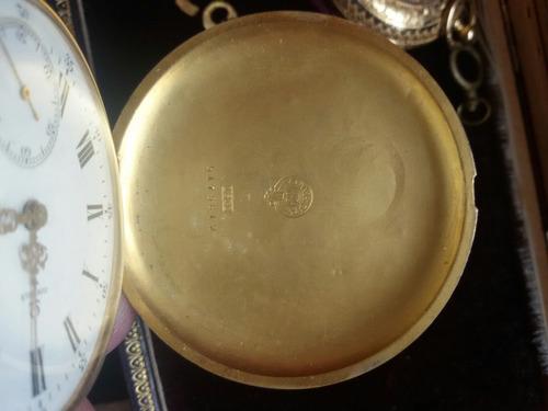 reloj omega de oro 18k  bolsillo