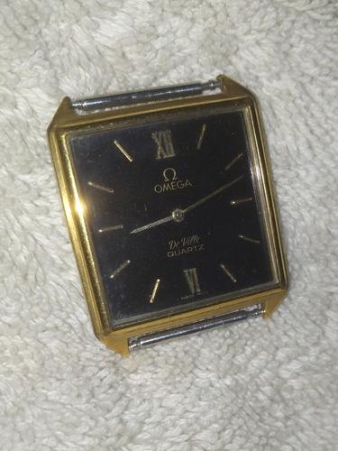 reloj omega de ville enchape d oro para reparar (30$)